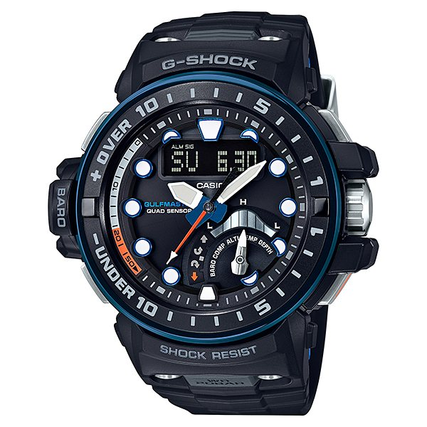 カシオ CASIO Gショック GULFMASTER Quad Sensor GWN-Q1000A-1AJF ブラック文字盤 メンズ 腕時計 【新品】