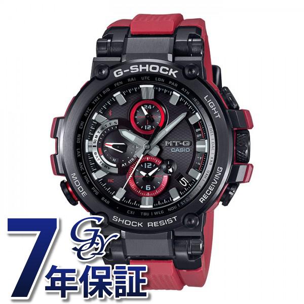 カシオ CASIO Gショック MT-G Bluetooth搭載 電波ソーラー【正規品】 MTG-B1000B-1A4JF ブラック文字盤 メンズ 腕時計 【新品】
