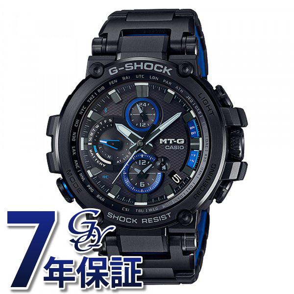 カシオ CASIO Gショック MT-G Bluetooth?搭載 電波ソーラー (メタルベゼル) MTG-B1000BD-1AJF ブラック文字盤 メンズ 腕時計 【新品】