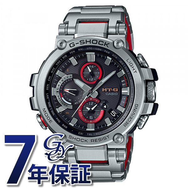 カシオ CASIO Gショック MT-G Bluetooth?搭載 電波ソーラー (メタルベゼル) MTG-B1000D-1AJF ブラック文字盤 メンズ 腕時計 【新品】