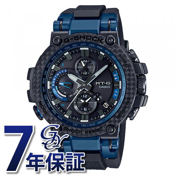 カシオ CASIO Gショック MT-G Bluetooth?搭載 電波ソーラー (カーボンベゼル) MTG-B1000XB-1AJF ブラック文字盤 メンズ 腕時計 【新品】