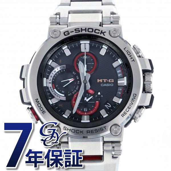 【期間限定ポイント5倍 5/5~5/31】 カシオ CASIO Gショック MT-G Bluetooth搭載 電波ソーラー MTG-B1000D-1AJF ブラック文字盤 メンズ 腕時計 【新品】