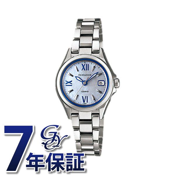 カシオ CASIO オシアナス 3 Hands Models OCW-70PJ-7AJF ホワイト文字盤 レディース 腕時計 【新品】