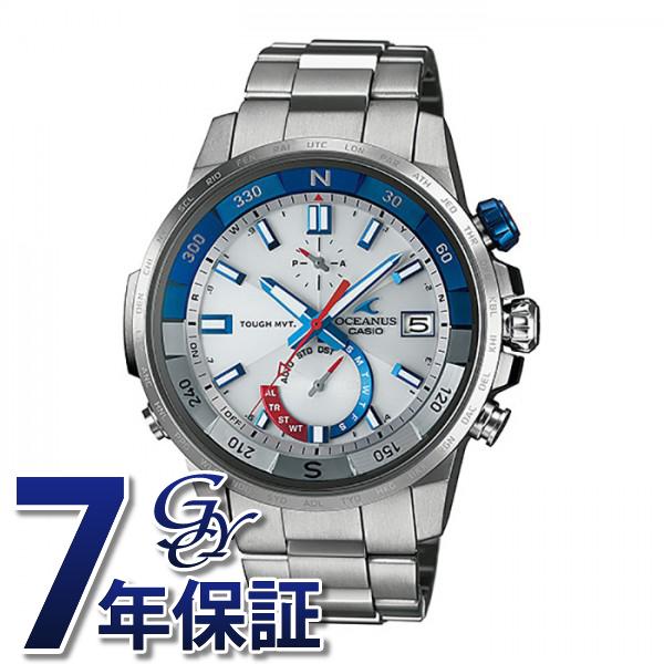 カシオ CASIO オシアナス OCW-P1000-7AJF シルバー文字盤 メンズ 腕時計 【新品】