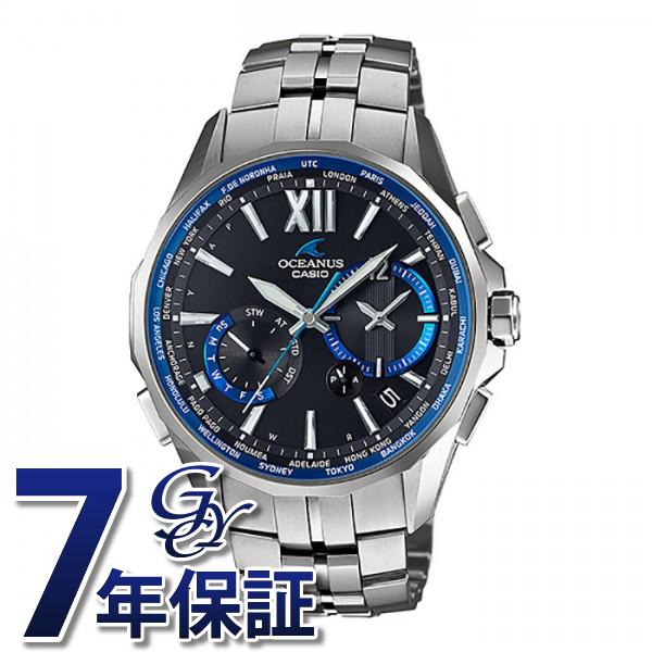 カシオ CASIO オシアナス OCW-S3400-1AJF ブラック文字盤 メンズ 腕時計 【新品】