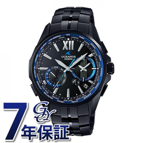 カシオ CASIO オシアナス OCW-S3400B-1AJF ブラック文字盤 メンズ 腕時計 【新品】