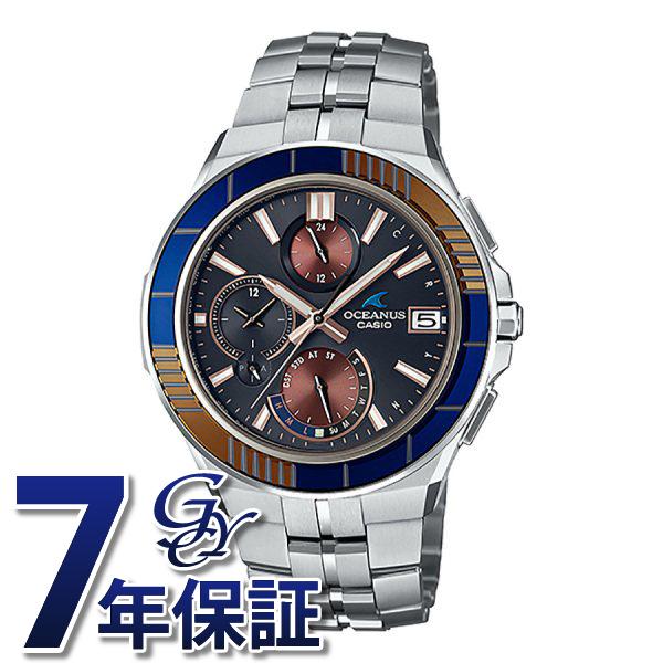 カシオ CASIO オシアナス マンタ OCW-S5000D-1AJF ブラック文字盤 メンズ 腕時計 【新品】