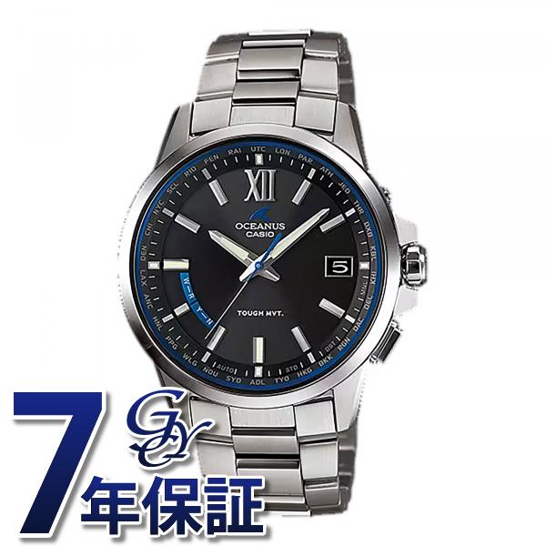 【期間限定ポイント5倍 5/5~5/31】 カシオ CASIO オシアナス OCW-T150-1AJF ブラック文字盤 メンズ 腕時計 【新品】