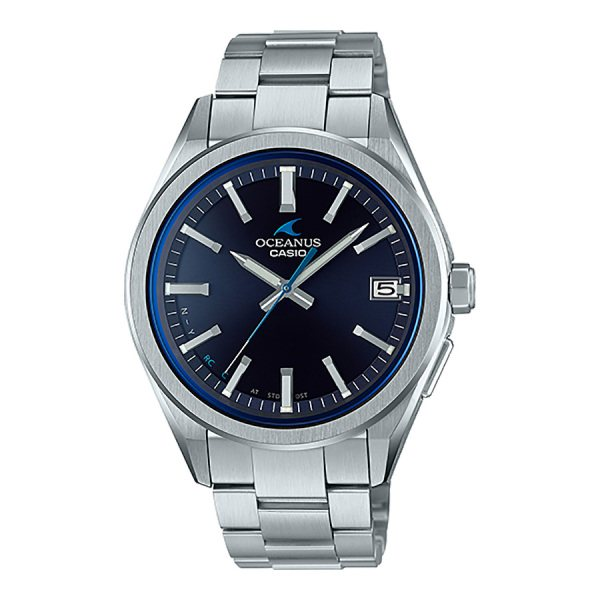 カシオ CASIO オシアナス 3 Hands Models OCW-T200S-1AJF ブルー文字盤 メンズ 腕時計 【新品】