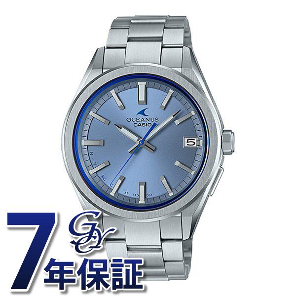 カシオ CASIO オシアナス 3 Hands Models OCW-T200S-2AJF ブルー文字盤 メンズ 腕時計 【新品】