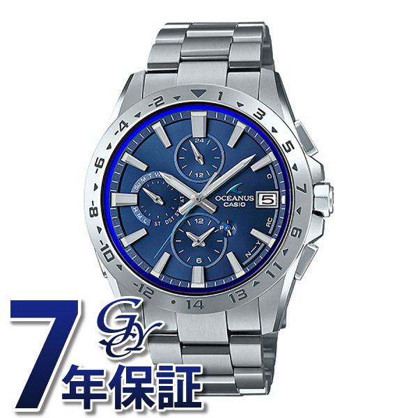 カシオ CASIO オシアナス クラシックライン OCW-T3000-2AJF ブルー文字盤 メンズ 腕時計 【新品】