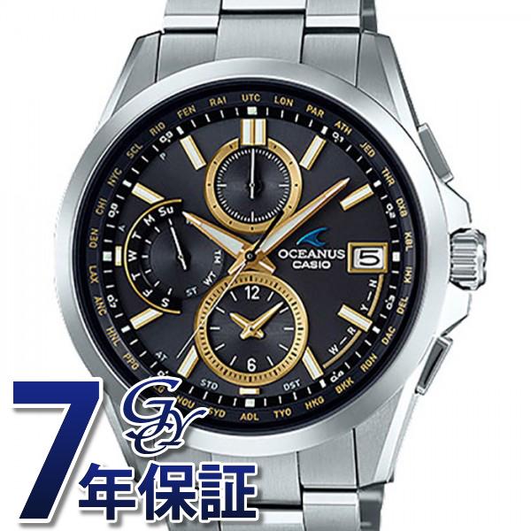 カシオ CASIO オシアナス OCW-T2600- 1A3JF ブラック文字盤 メンズ 腕時計 【新品】