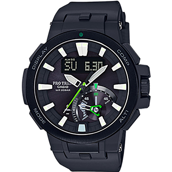 カシオ CASIO プロトレック PRW-7000-1AJF ブラック文字盤 メンズ 腕時計 【新品】