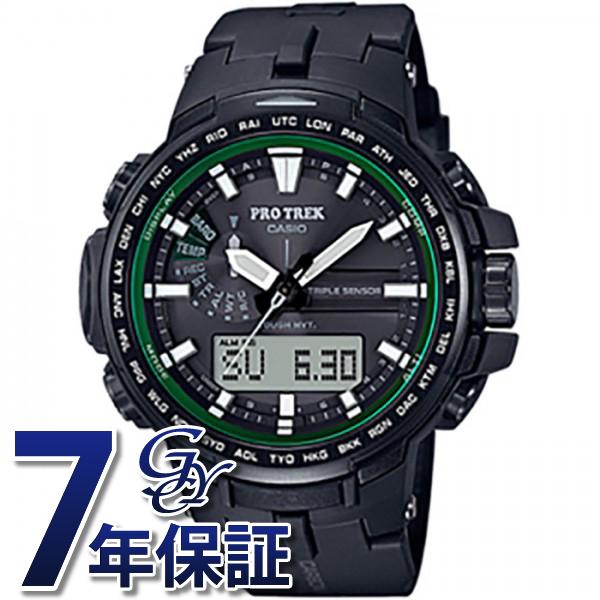 カシオ CASIO プロトレック PRW-S6100Y-1JF ブラック文字盤 メンズ 腕時計 【新品】