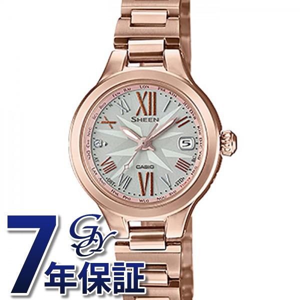 カシオ CASIO シーン SHW-1750CG-4AJF シルバー文字盤 レディース 腕時計 【新品】