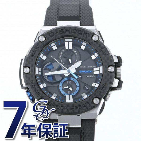 カシオ CASIO Gショック G-STEEL Bluetooth搭載 タフネスクロノグラフ GST-B100XA-1AJF ブラック文字盤 メンズ 腕時計 【新品】