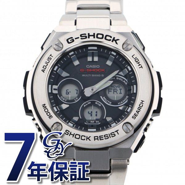 カシオ CASIO Gショック G-STEEL ミドルサイズ 電波ソーラー GST-W310D-1AJF ブラック文字盤 メンズ 腕時計 【新品】