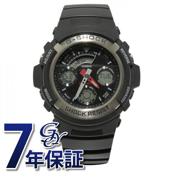 カシオ CASIO Gショック G-SHOCK【正規品】 AW-590-1AJF ブラック文字盤 メンズ 腕時計 【新品】