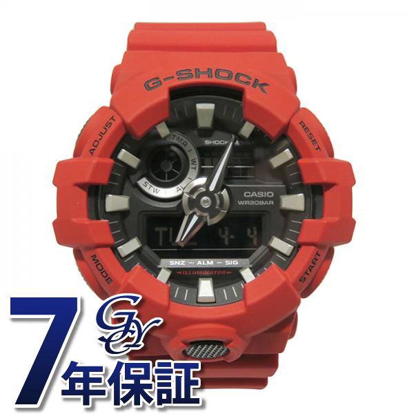 カシオ CASIO Gショック G-SHOCK【正規品】 GA-700-4AJF ブラック文字盤 メンズ 腕時計 【新品】