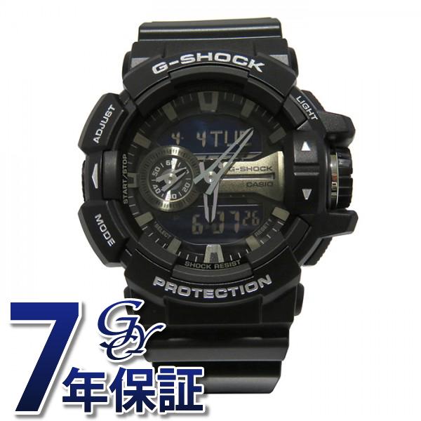 【期間限定ポイント5倍 5/5~5/31】 カシオ CASIO Gショック G-SHOCK【正規品】 GA-400GB-1AJF ブラック文字盤 メンズ 腕時計 【新品】