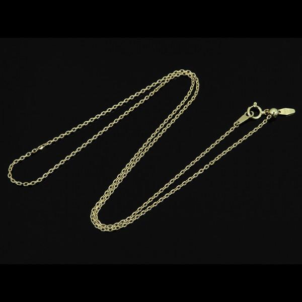 チェーン CHAIN ネックレス イエローゴールド 小豆0.45 / 50cm NC-LYG メンズ ジュエリー 【新品】
