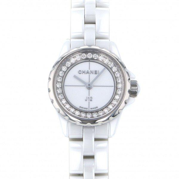シャネル CHANEL J12 XS H5237 ホワイト文字盤 レディース 腕時計 【新品】