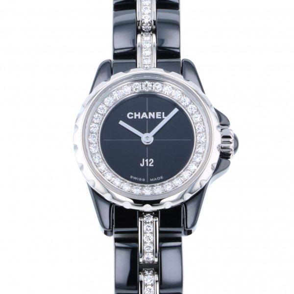 シャネル CHANEL J12 XS H5236 ブラック文字盤 レディース 腕時計 【新品】