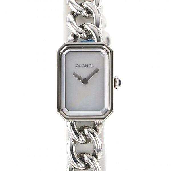 シャネル CHANEL プルミエール S H3249 ホワイト文字盤 レディース 腕時計 【新品】