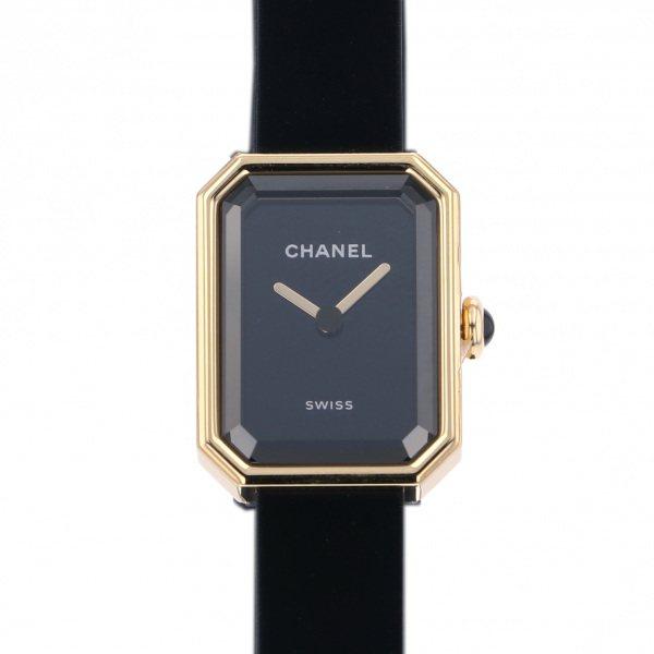 シャネル CHANEL プルミエール ヴェルヴェット H6125 ブラック文字盤 レディース 腕時計 【新品】