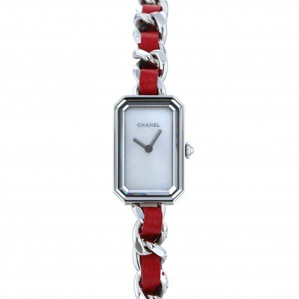 シャネル CHANEL プルミエール ロック H5313 ホワイト文字盤 レディース 腕時計 【新品】