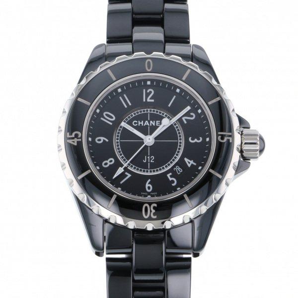 シャネル CHANEL J12 33mm H0682 ブラック文字盤 レディース 腕時計 【新品】