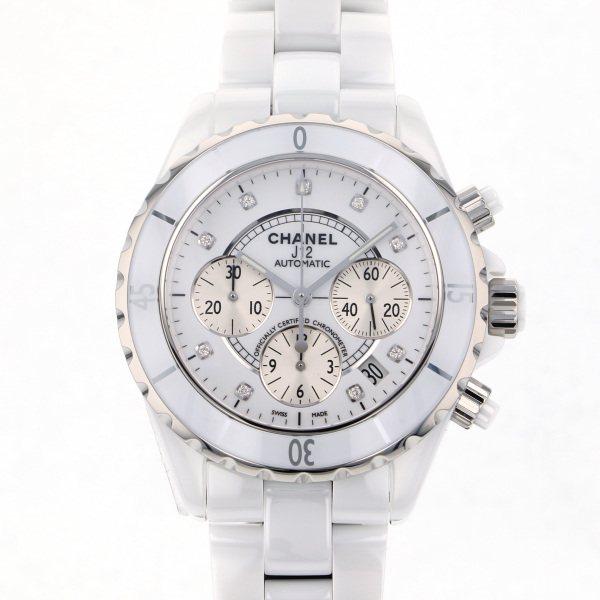 シャネル CHANEL J12 H2009 ホワイト文字盤 メンズ 腕時計 【新品】