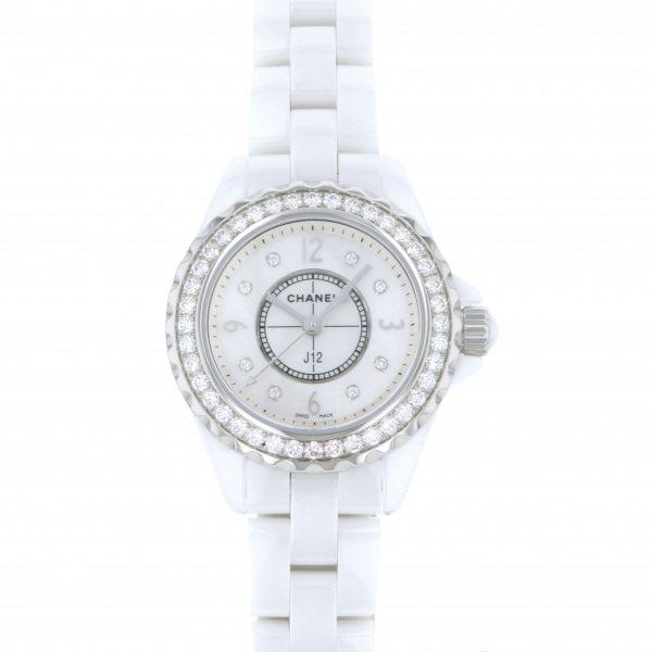 シャネル CHANEL J12 29mm H2572 ホワイト文字盤 レディース 腕時計 【新品】