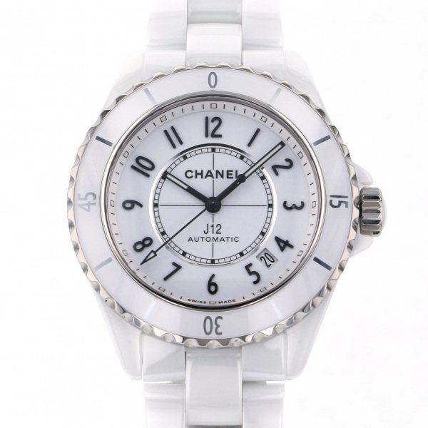 シャネル CHANEL J12 38mm H5700 ホワイト文字盤 メンズ 腕時計 【新品】