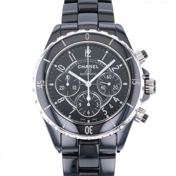シャネル CHANEL J12 クロノグラフ H0940 ブラック文字盤 メンズ 腕時計 【新品】