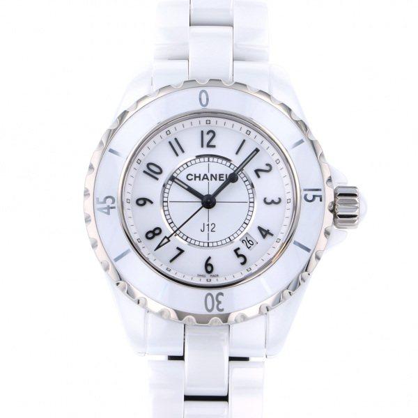 シャネル CHANEL J12 33mm H0968 ホワイト文字盤 レディース 腕時計 【新品】