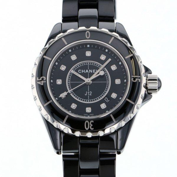 【期間限定ポイント5倍 5/5~5/31】 シャネル CHANEL J12 29mm H2569 ブラック文字盤 レディース 腕時計 【新品】