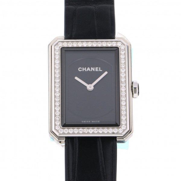 シャネル CHANEL ボーイフレンド H4883 ブラック文字盤 レディース 腕時計 【新品】