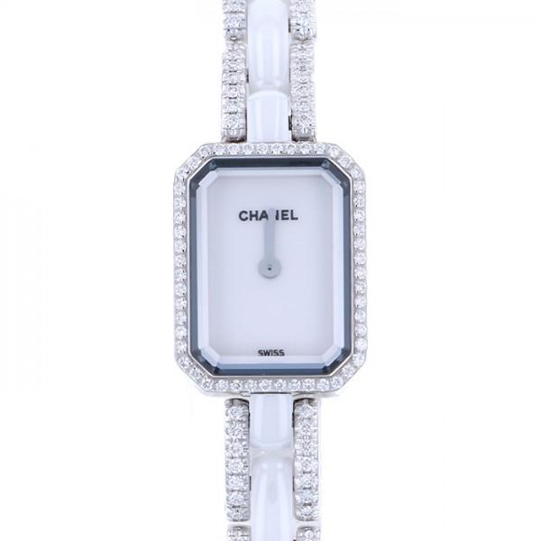 当店在庫してます! シャネル CHANEL プルミエール H2146 ホワイト文字盤 新品 腕時計 レディース, スッツグン c8f7616e