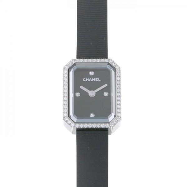 シャネル CHANEL プルミエール 【生産終了モデル】 H2434 ブラック文字盤 レディース 腕時計 【新品】