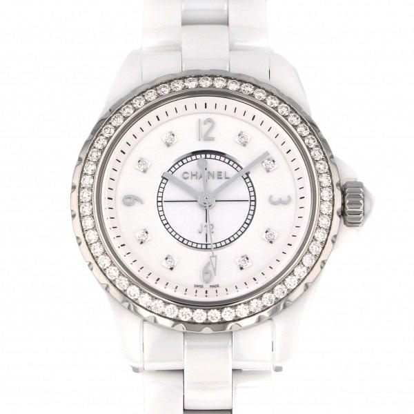 シャネル CHANEL J12 33mm H3110 ホワイト文字盤 レディース 腕時計 【新品】