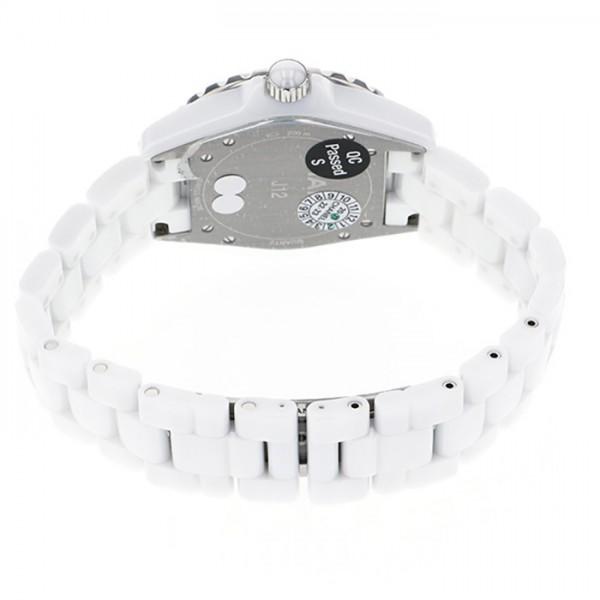 【全品 ポイント10倍 16日1:59まで 要エントリー】シャネル CHANEL J12 日本未発売 H3214 ホワイト文字盤 メンズ 腕時計 【新品】