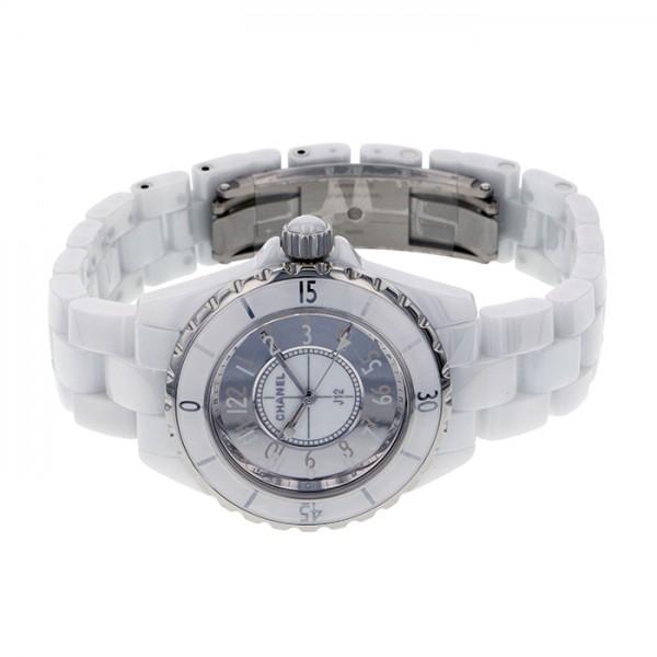 シャネル CHANEL J12 33 ミラー 世界限定1200本 H4861 ホワイト/ミラー文字盤 レディース 腕時計 【新品】