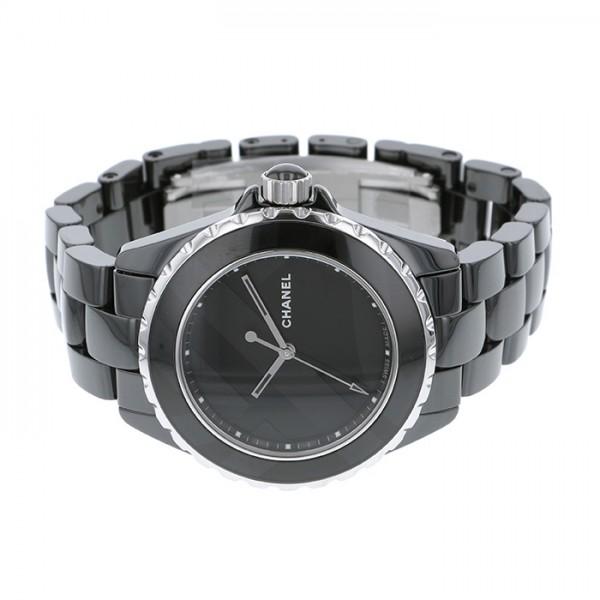 new concept b4116 a9099 シャネル CHANEL J12 38mm アンタイトル 世界限定1200本 H5581 ブラック文字盤 メンズ 腕時計  【新品】 株式会社ジェムキャッスルゆきざき