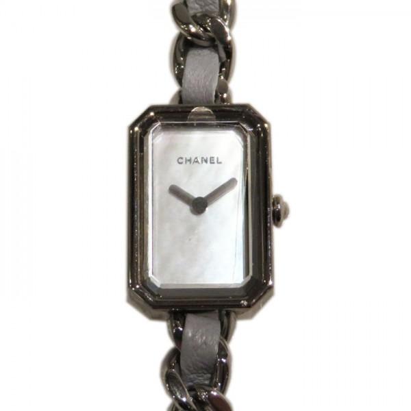 シャネル CHANEL プルミエール ロック 世界限定1000本 H4327 ホワイト文字盤 レディース 腕時計 【新品】