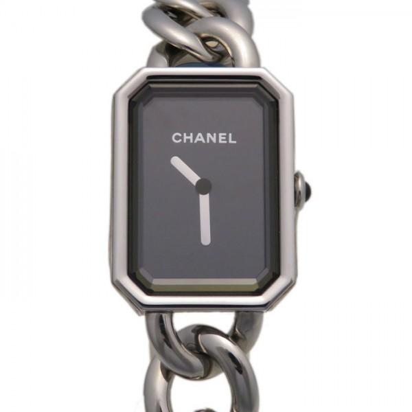シャネル CHANEL プルミエール H4199 ブラック文字盤 レディース 腕時計 【新品】