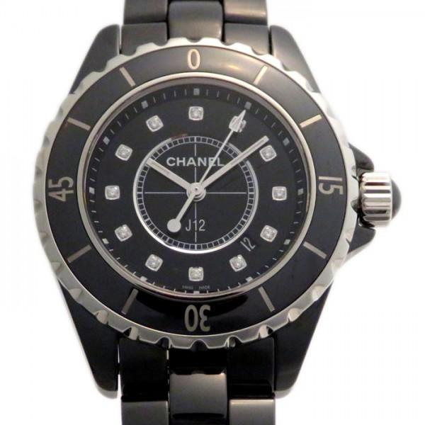 新作人気モデル シャネル 腕時計 CHANEL J12 H1625 新品 ブラック文字盤 新品 腕時計 J12 レディース, INTERFORM:b5ede603 --- somorsunclub.amga-dusch.ru