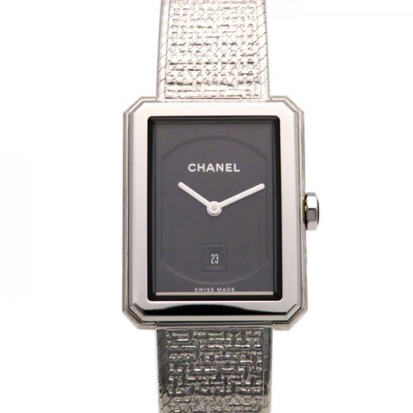 シャネル CHANEL ボーイフレンド ツイードM H4878 ブラック文字盤 レディース 腕時計 【新品】