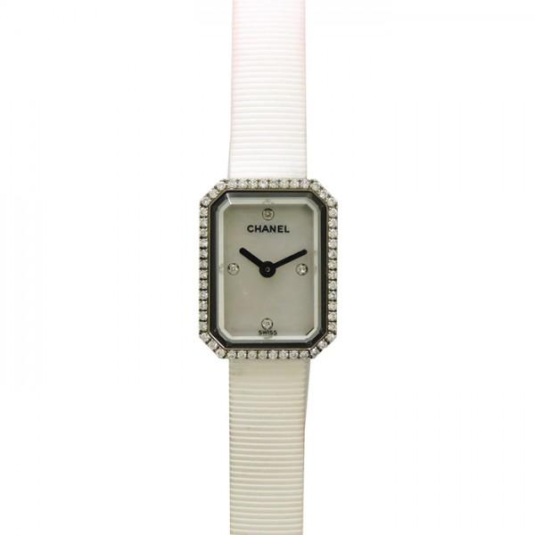 シャネル CHANEL プルミエール H2433 ホワイト文字盤 レディース 腕時計 【中古】