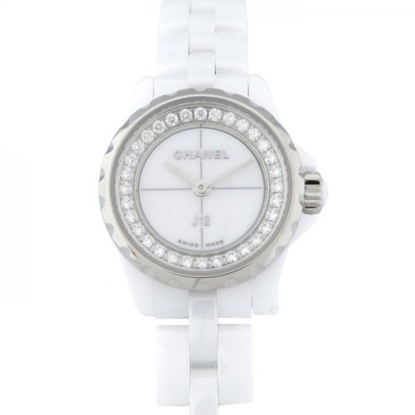 最新 シャネル XS CHANEL J12 レディース シャネル XS H5237 ホワイト文字盤 新品 腕時計 レディース, 溝口町:7b773ade --- houzefund.com